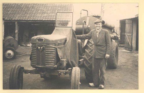 Traktor en tank