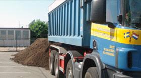 Verkoop en transport van grond